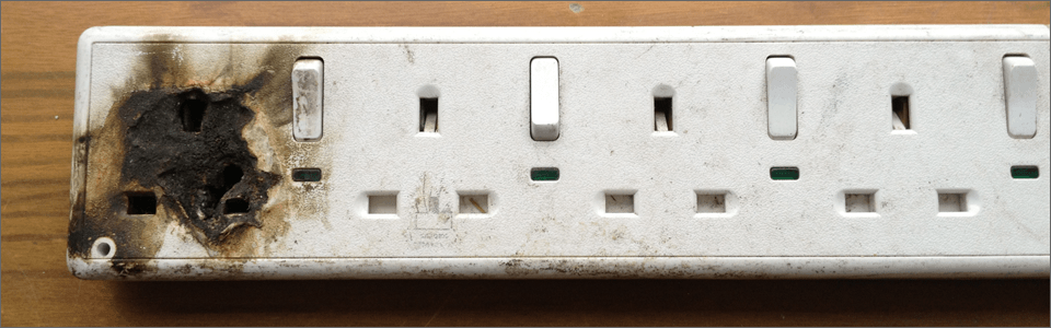 burnt-socket